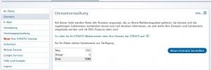 Domain bestellen bei Strato
