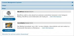 Wordpress in Strato installieren