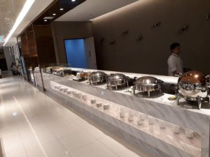Die Miracle First Class Lounges gibt es fast an jedem Gate in BKK