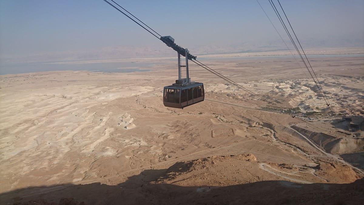 Seilbahn nach Masada