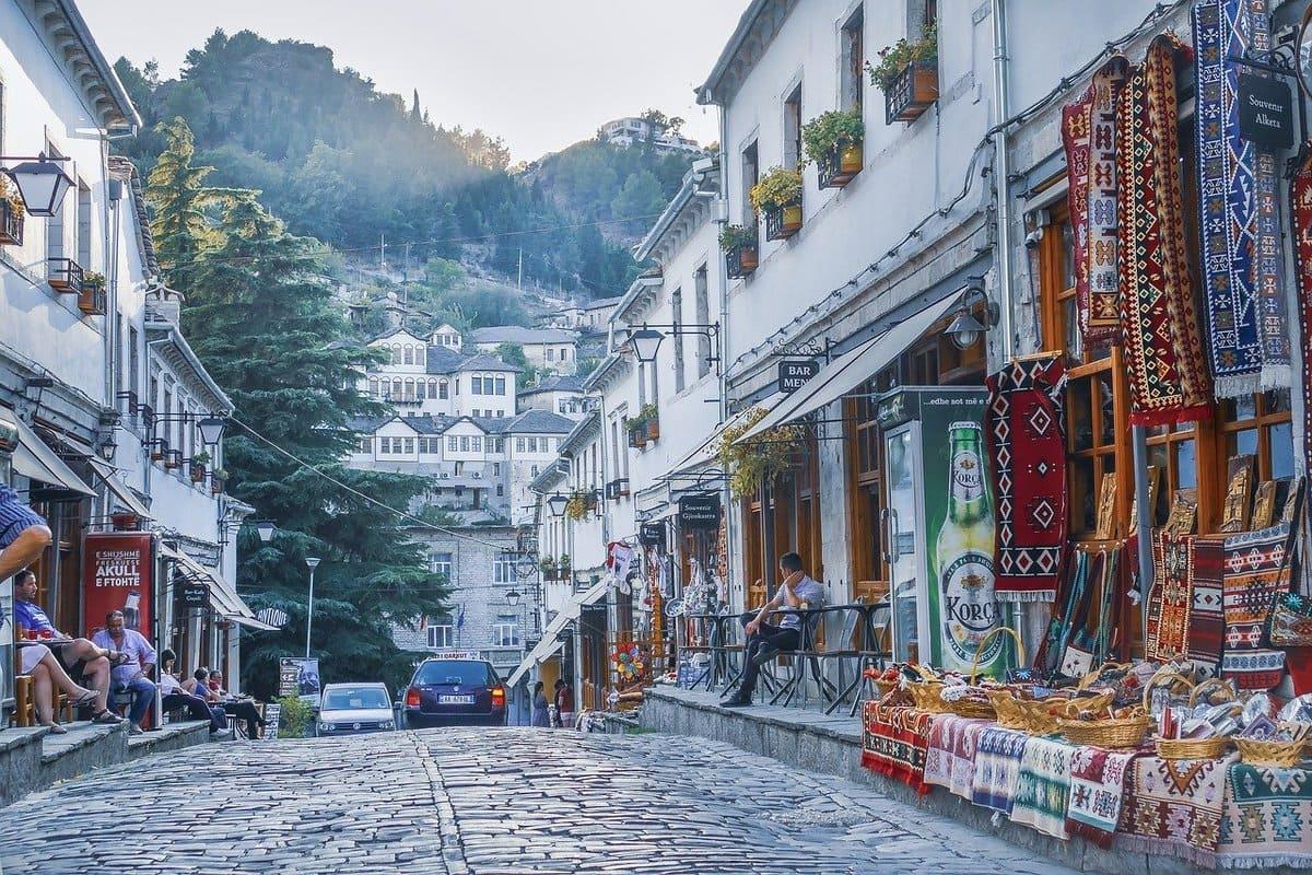 Gjirokasjer, Albanien