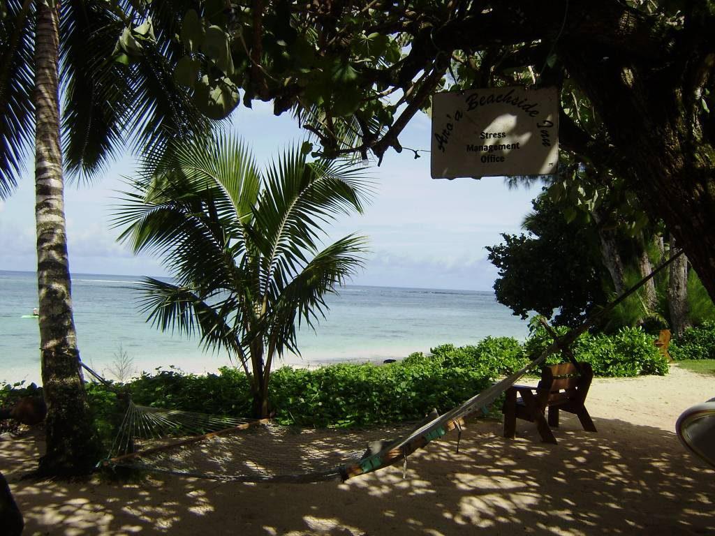 """Das """"Stress- Management Office"""" des Aroa Beachside Inn"""