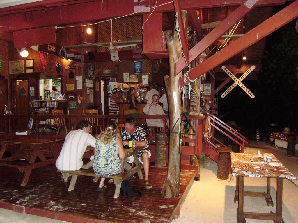 Shipwreck Hut, Aroa Beachside Inn, Cook Islands