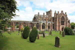 Melrose Abbey Schottland