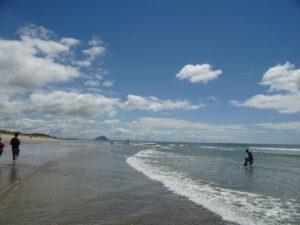 Papamoa Beach, Neuseeland