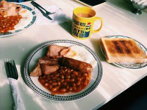 Frühstück in Schottland