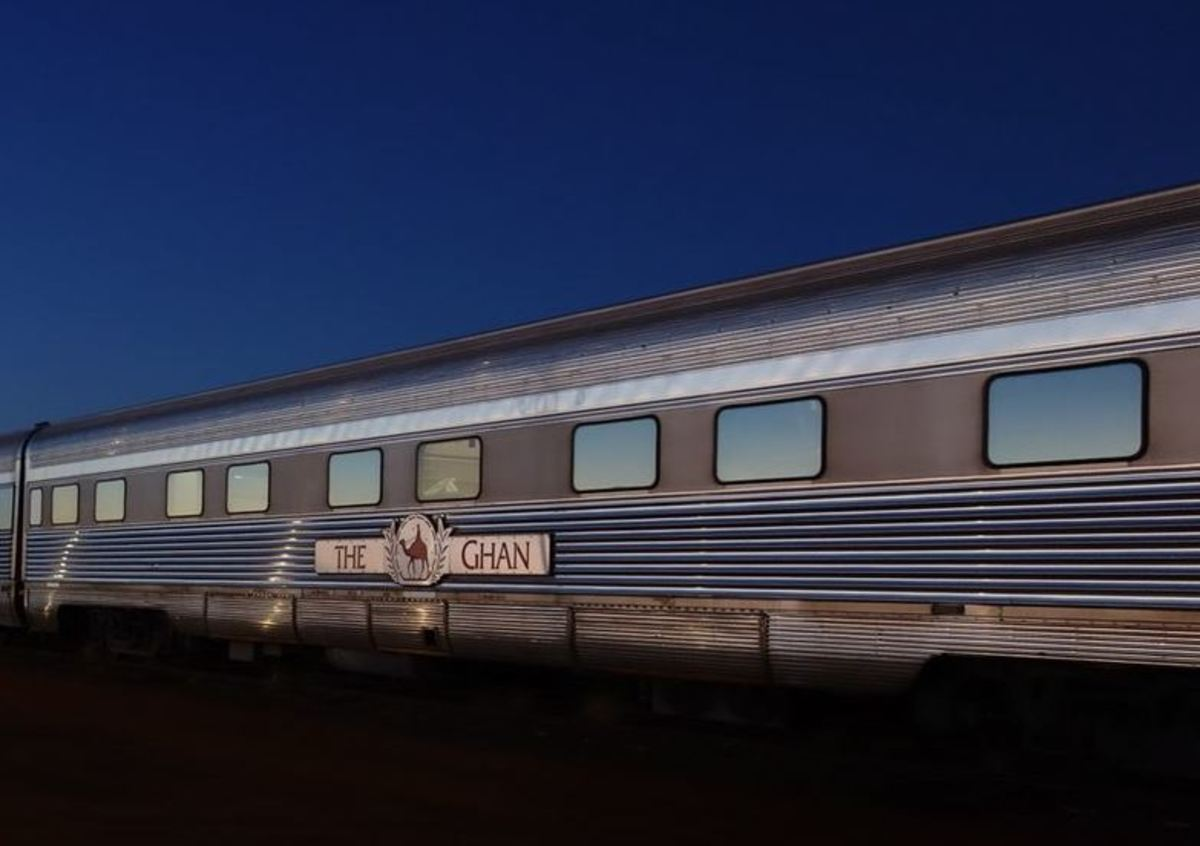 The Ghan Adelaide nach Darwin
