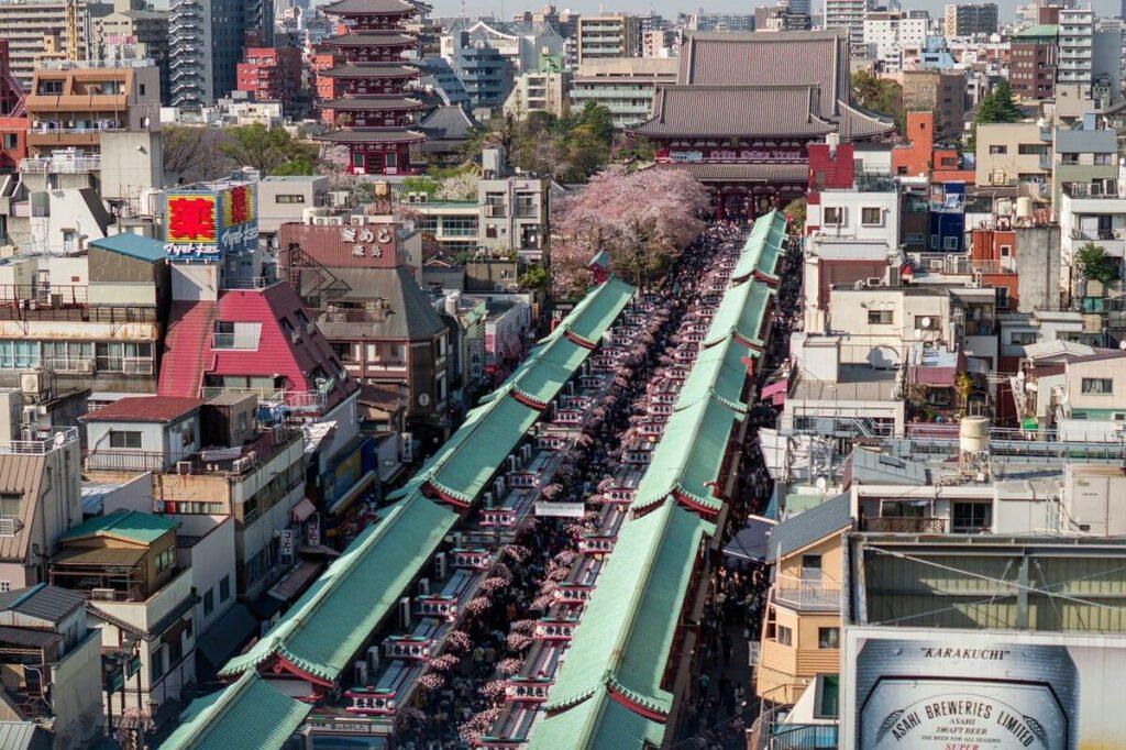 Tokio, Asakusa District