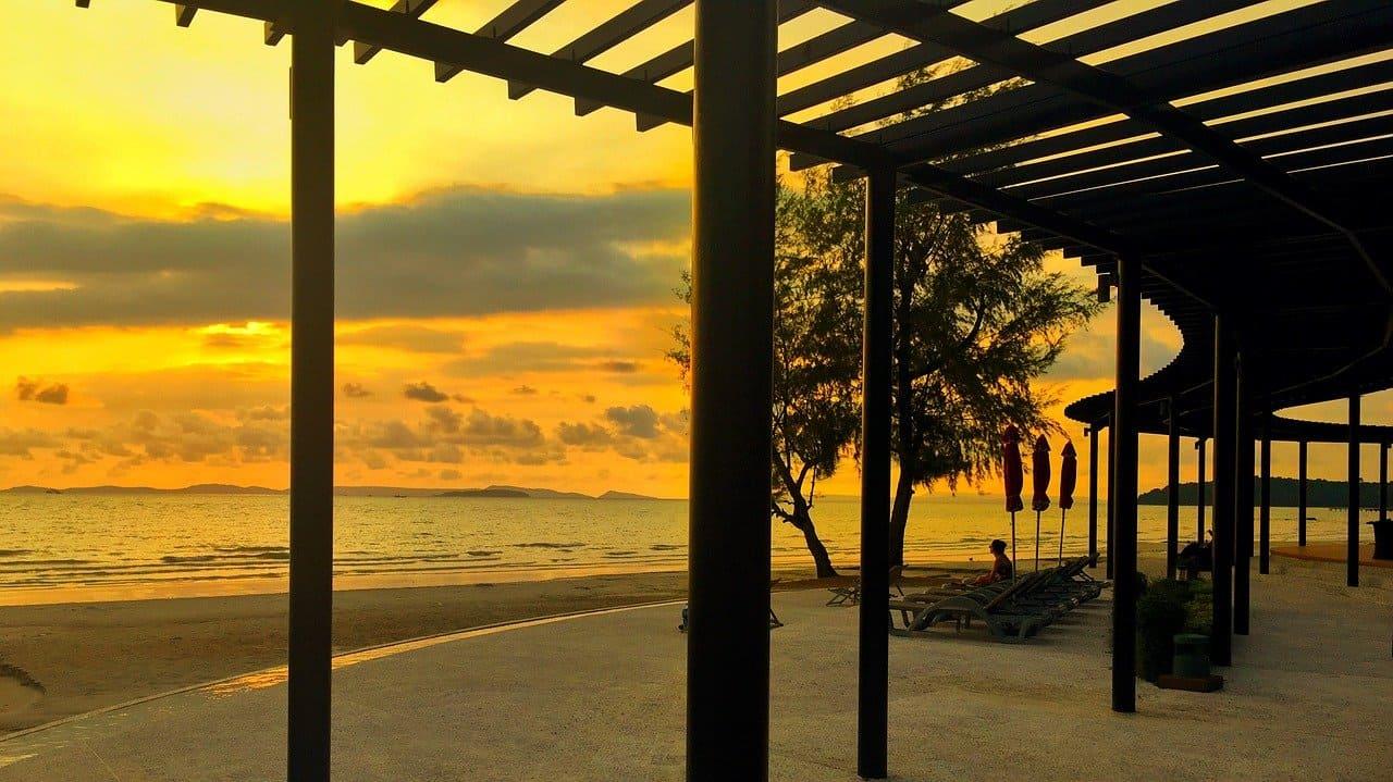 Independence Beach Sihanoukville Anfang 2017