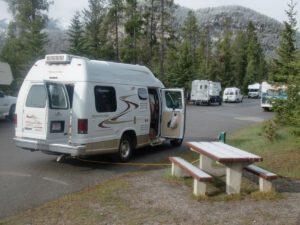 Tunnel Mt Village Campground Banff