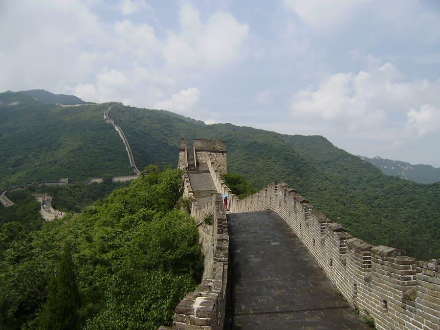 Chinesische Mauer Mutianya