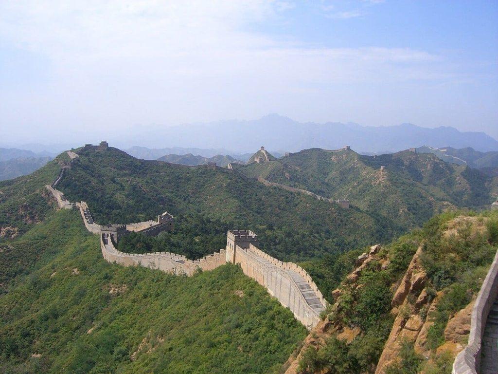 Chinesische Mauer Mutianyu