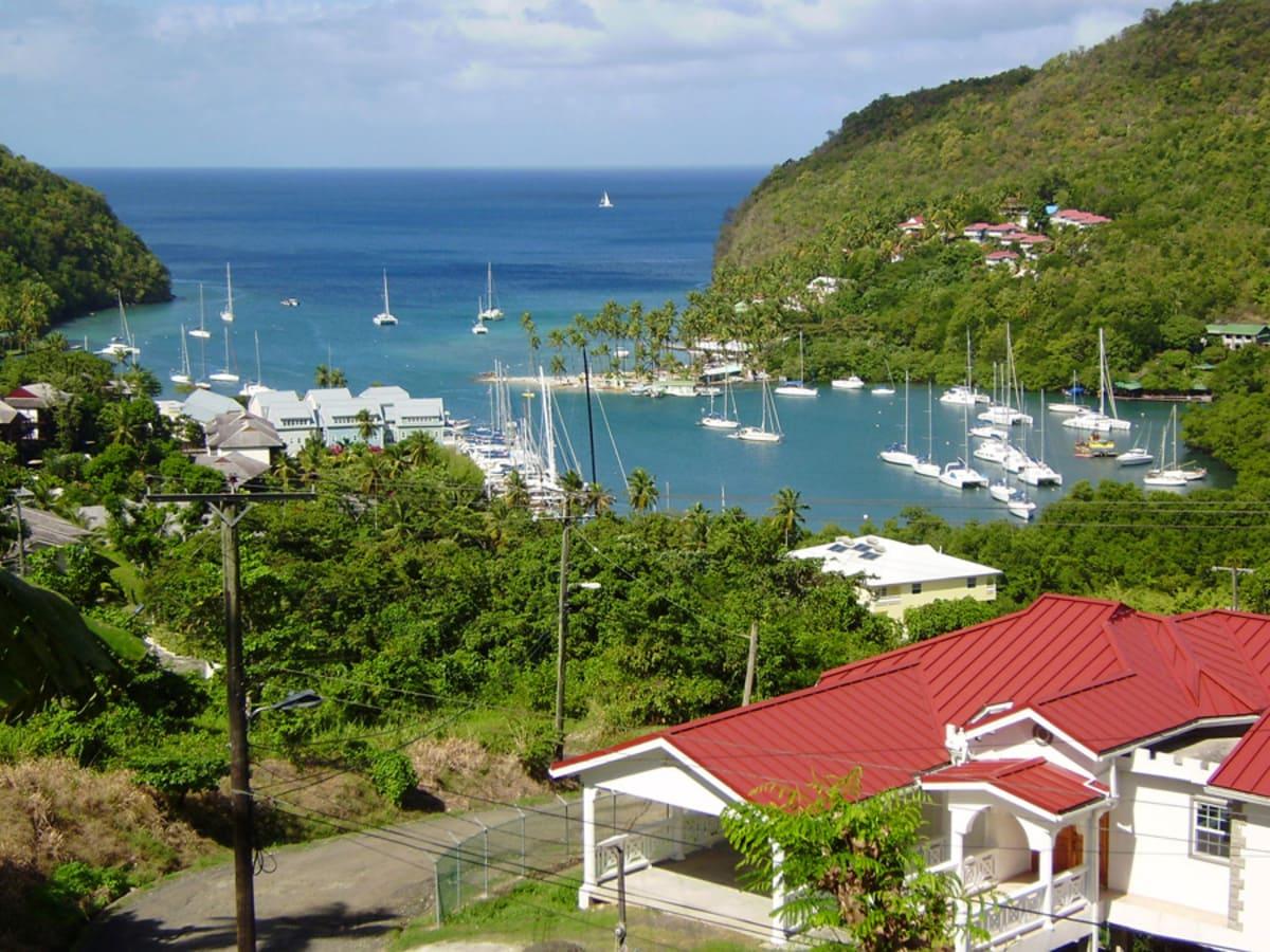 St Lucia (Karibik), Marigot Bay