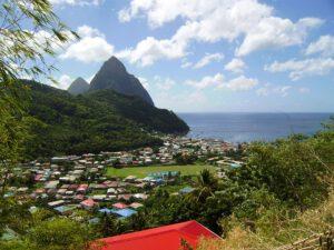 St Lucia Gros und Petit Piton