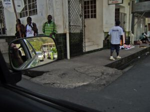Streetlife in Soufriere, St Lucia