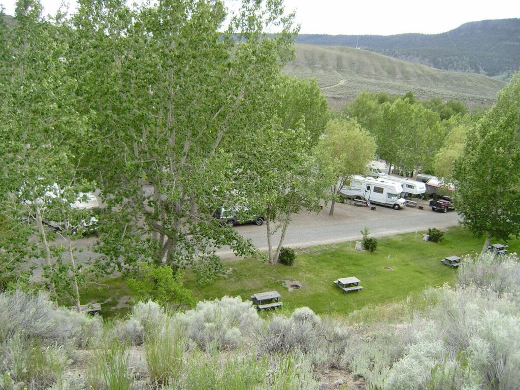 Cayoosh Creek Campground Lillooet