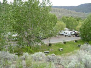 Cayoosh Creek Campground Lillooet