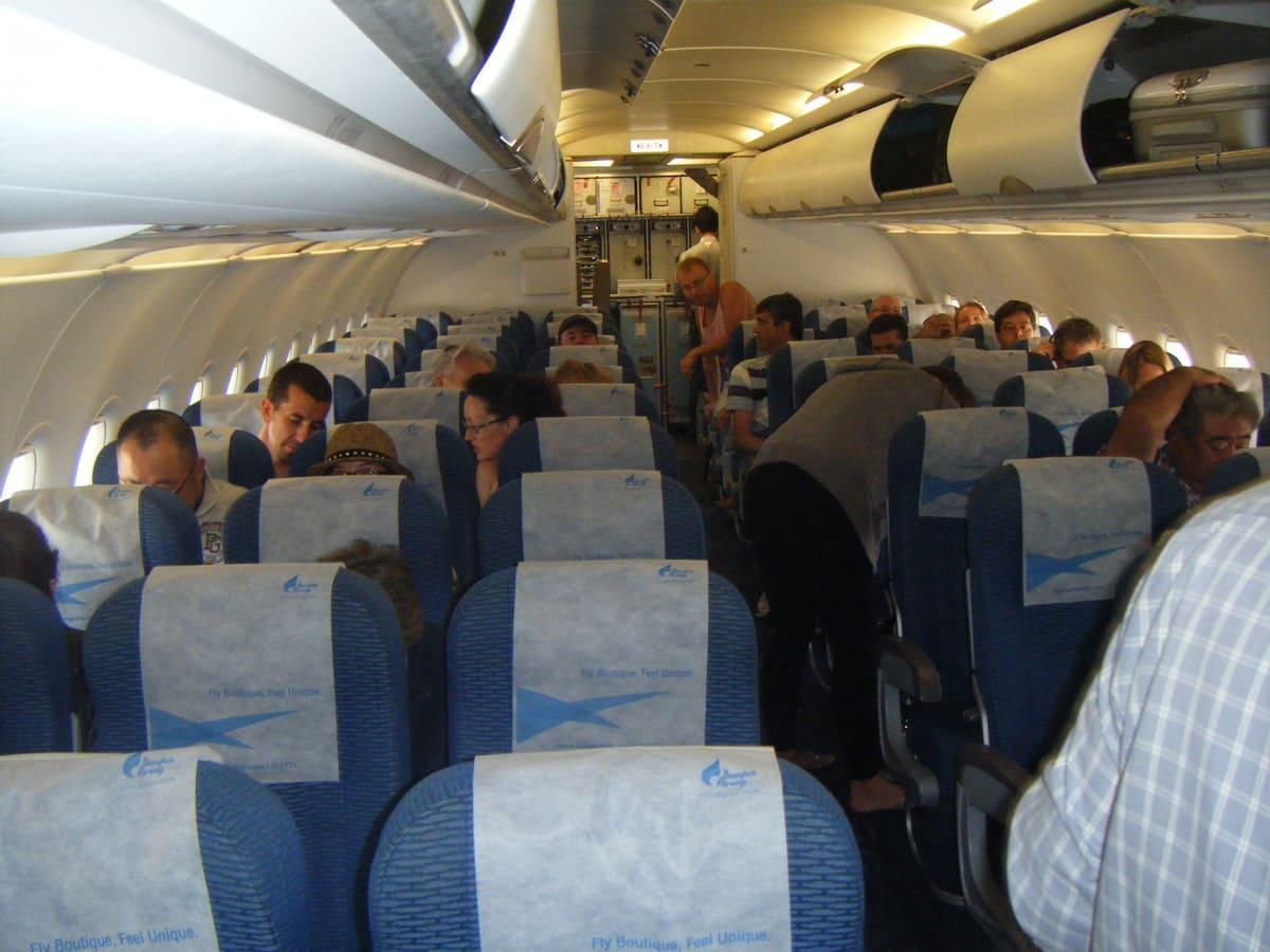 Bangkok Airways an Bord