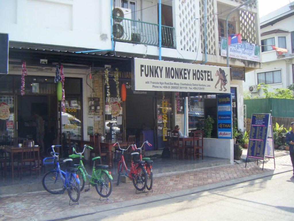 Funky Monkey Hostel Vientiane