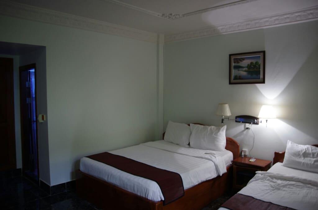 Alliance Villa Siem Reap Bett