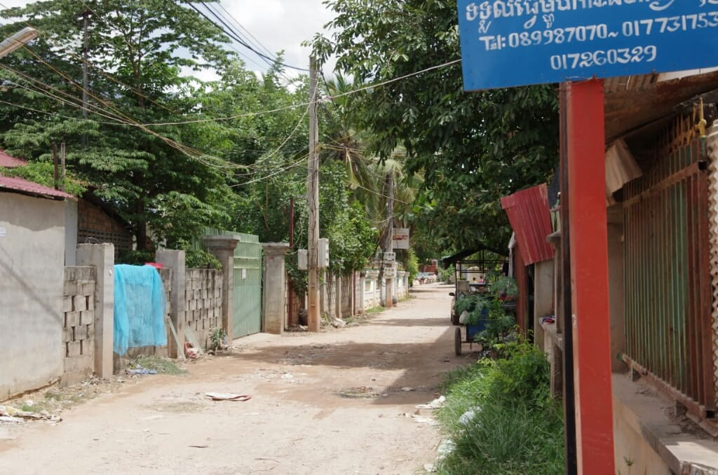 Alliance Villa Siem Reap Zufahrt