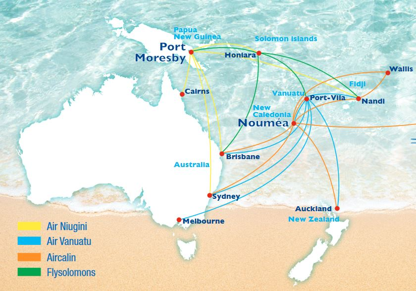 South Pacific Airpass