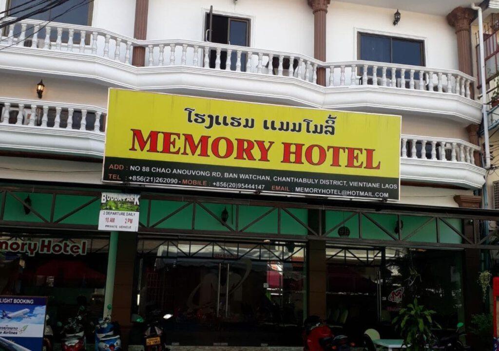 Memory Hotel Vientiane Laos