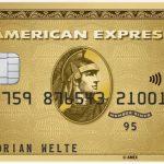 American Express Gold Card mit 40.000 Punkten Willkommensbonus bis 26.02.2020