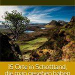 Schottland- Urlaub im Wigwam