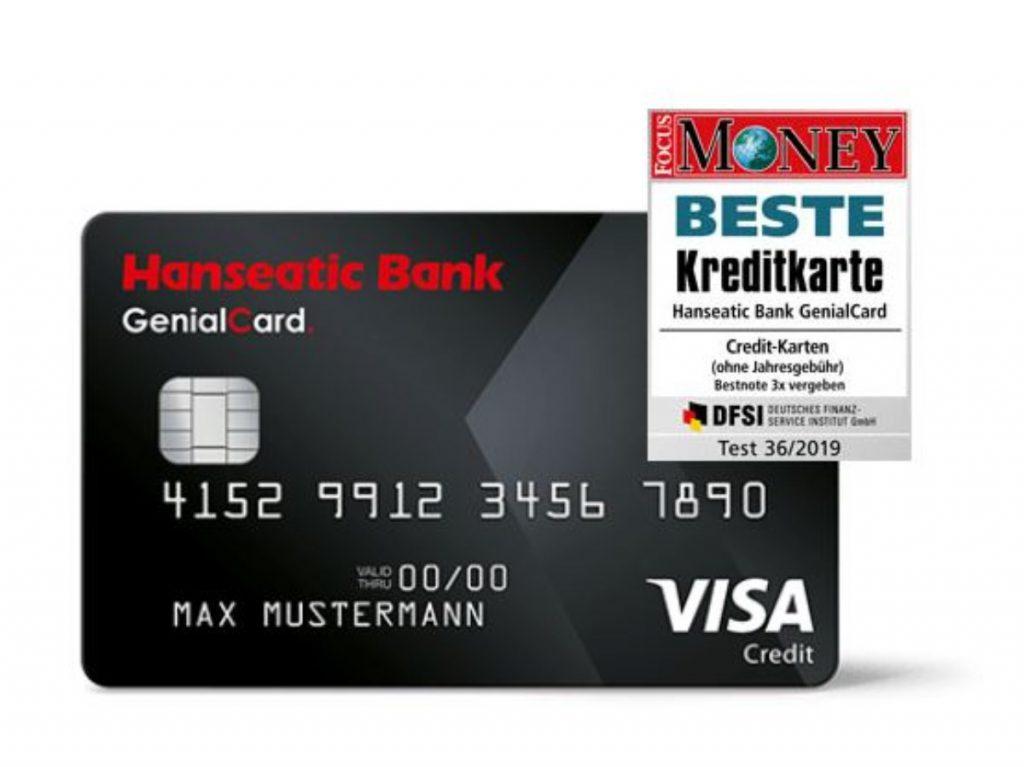 GenialCard der Hanseatic Bank