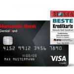 GenialCard - die geniale Reisekreditkarte der Hanseatic Bank