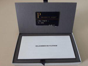 Priority Pass mit AMEX Platinum