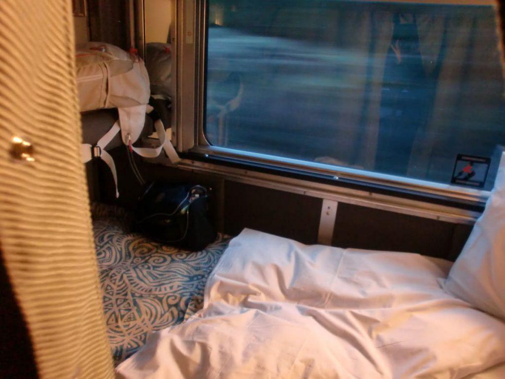 Viarail The Canadian Toronto nach Vancouver Viererkabine
