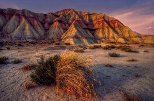 Spanien Navarra Wüste