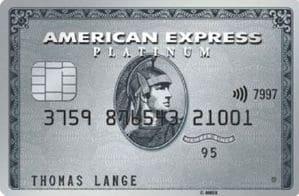 American Express Platinum mit 75.000 Bonuspunkten