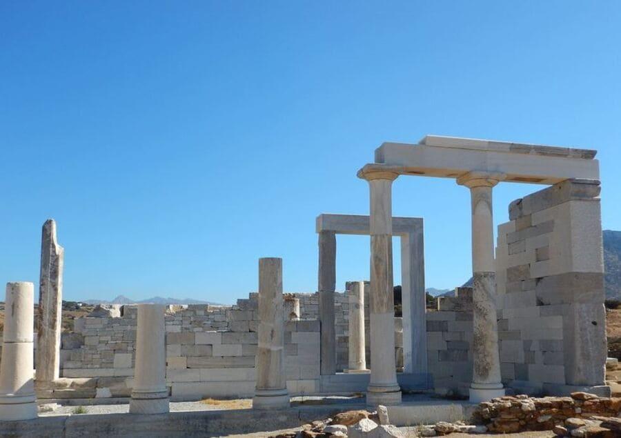 Demeter Tempel von Sangri, Naxos