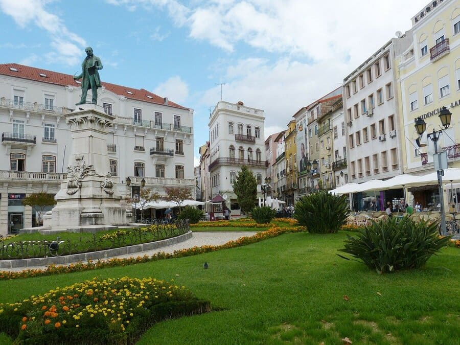 Coimbra an der Silberküste (Costa Prata)