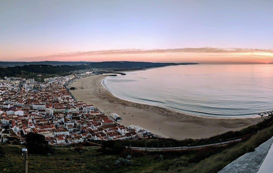 Nazare Strand, Costa Prata