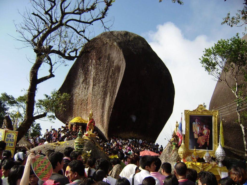 Buddhas Fußabdruck am Khao Khitchakut